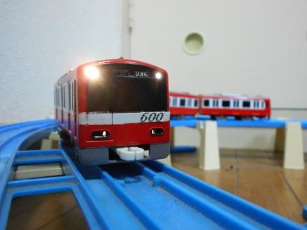 プラレール京急600形655編成(架線計測車)