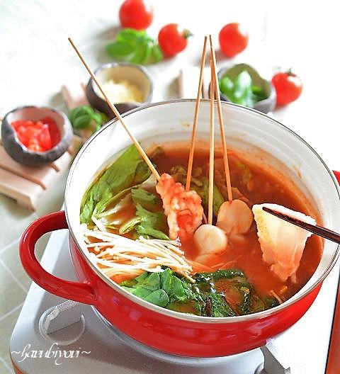 トマト鍋14