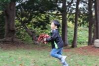 秋の工作遊ぶ88