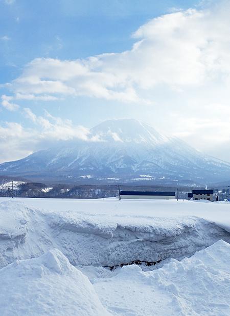 雪の羊蹄山11