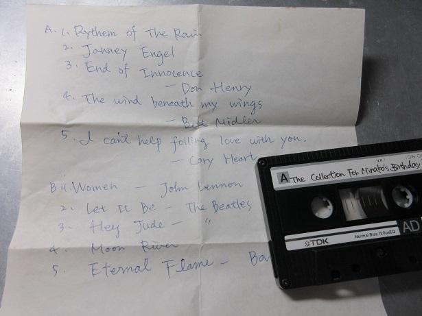 【カセットテープ】