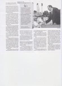 ピースボート ヒバクシャ地球一周 証言の航海-メキシコ新聞1