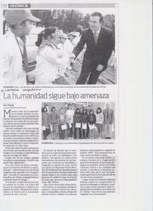 ピースボート ヒバクシャ地球一周 証言の航海-メキシコ新聞2
