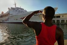 $ピースボート ヒバクシャ地球一周 証言の航海