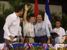 ピースボート ヒバクシャ地球一周 証言の航海-オルデガ大統領と吉岡達也