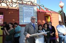 ピースボートのおりづるプロジェクト-テルデ市市長