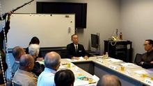ピースボートのおりづるプロジェクト-証言する喜多村隆昭さん