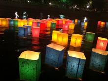 ピースボートのおりづるプロジェクト-灯篭2