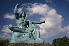 $    ピースボートのおりづるプロジェクト-長崎平和の像