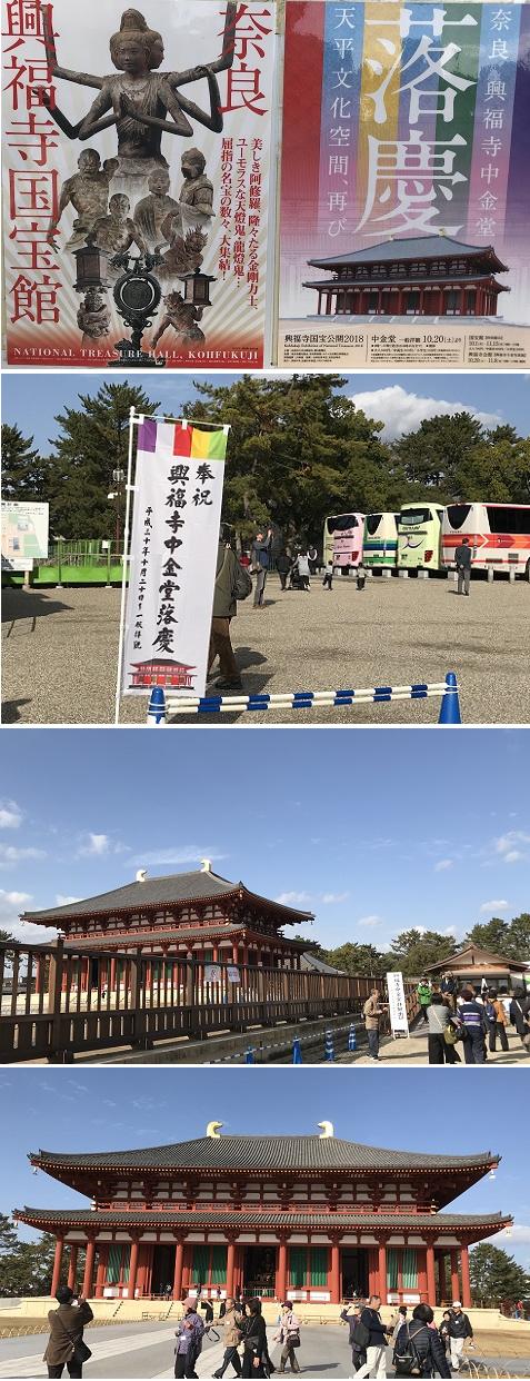 20181129世界遺産興福寺中金堂1!