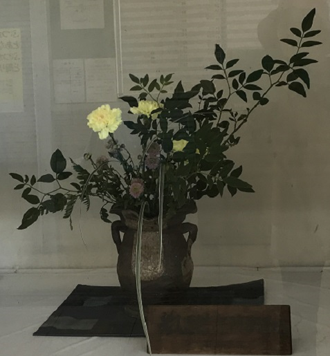 20181107駅の生花10