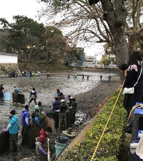 20181218緊急SOS!池の水ぜんぶ抜く大作戦