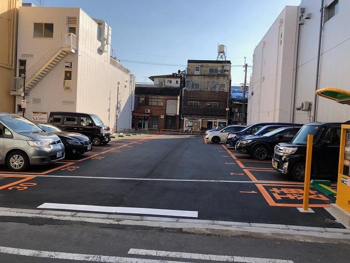 0226川撮影-阪急前のパチンコの横、解体していたところです3
