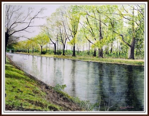 アーベルドールン水路(オランダ)