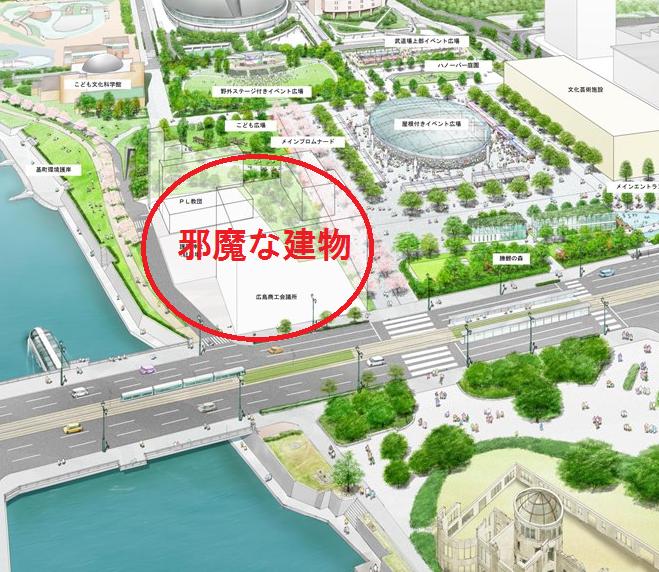 広島市民球場跡地利用計画