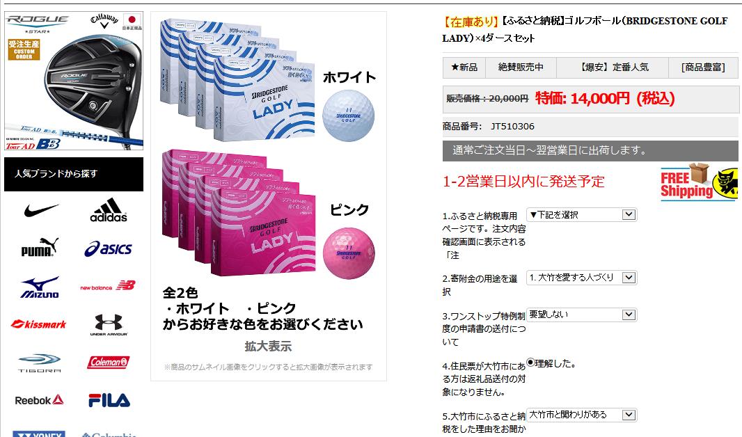 大竹市ふるさと納税 偽サイト2