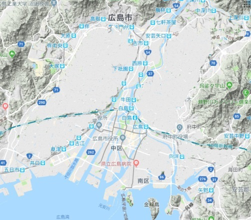 広島市 山を崩壊