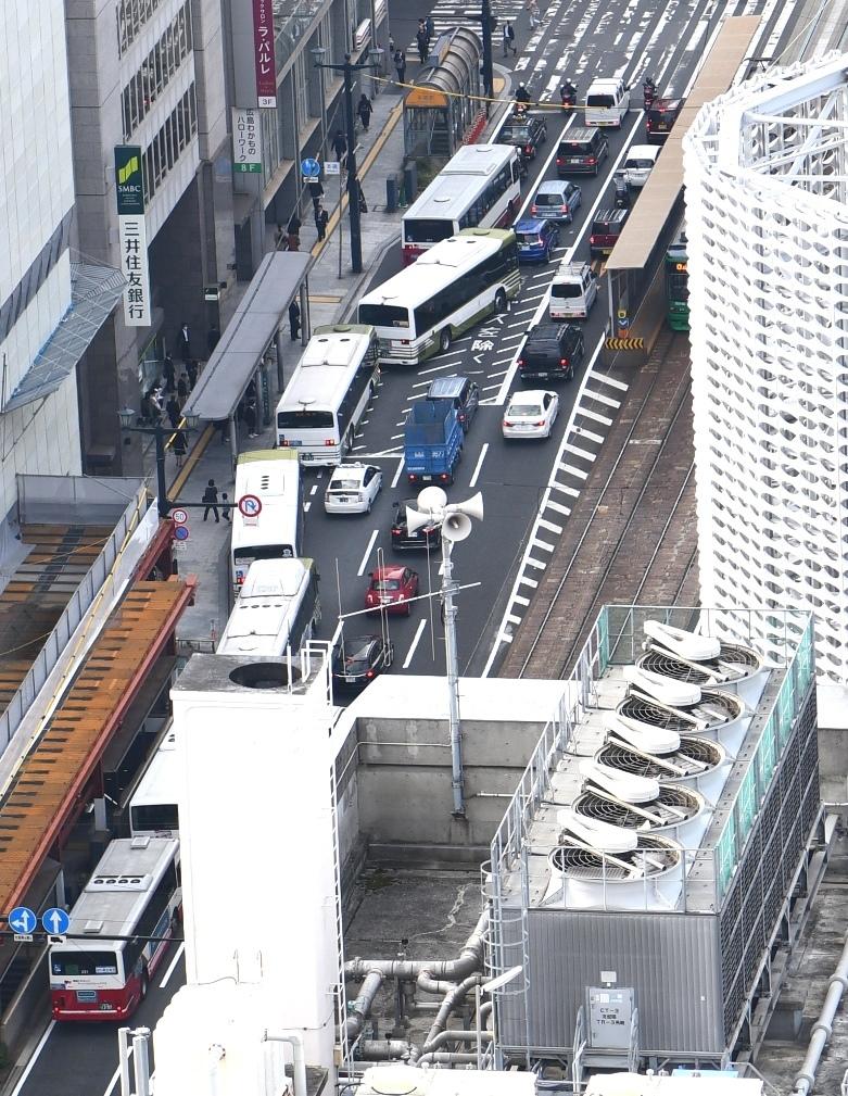 広島バス渋滞