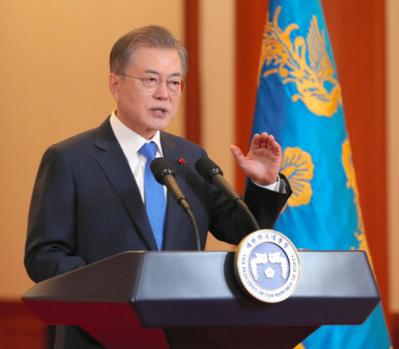 韓国 文大統領