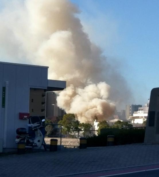 広島市中区 とんど焼き