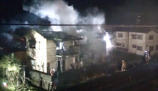 海田町 山本アパート空き家火事