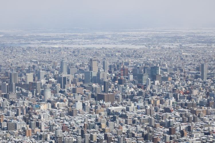 5Z2A3834 藻岩山展望台 札幌中心部SN