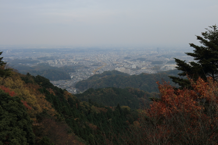 高尾山からの景色-S3