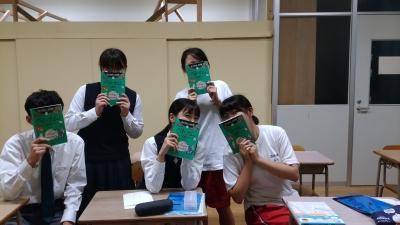 筑水高校 研修前語学学習 2018年