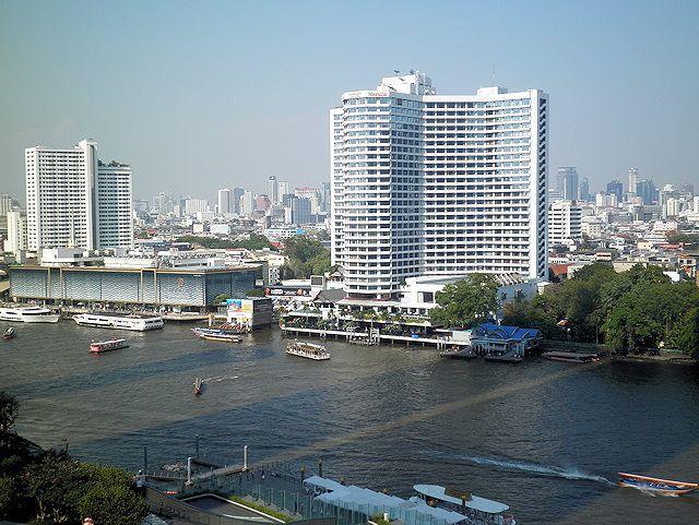 アイコンサイアムの「HOBS」から見たチャオプラヤ川