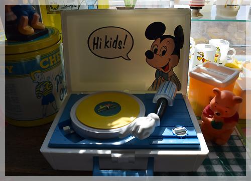 ミッキーマウス レコードプレーヤー