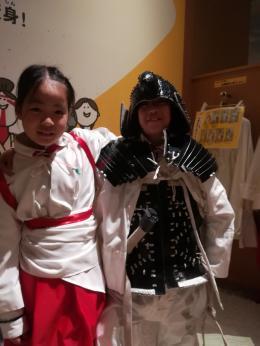 中世の巫女と武士
