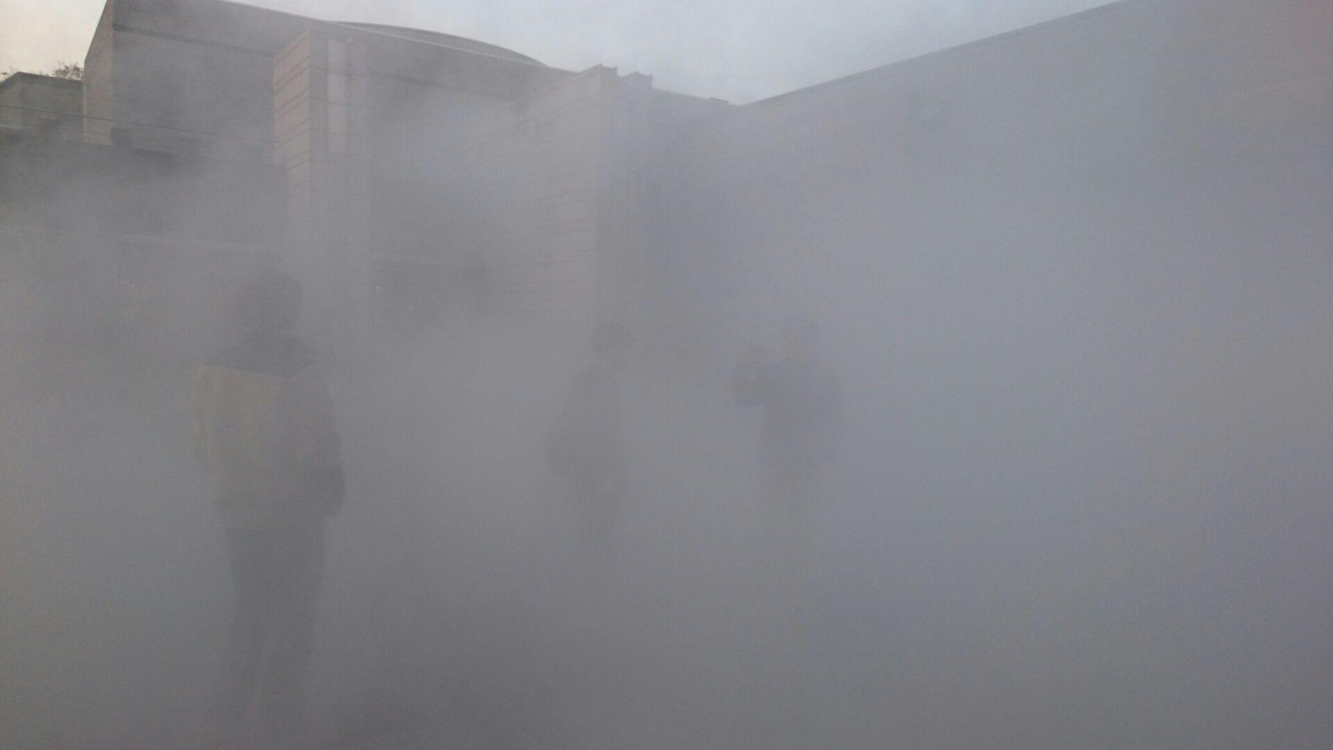 霧の彫刻 昼3