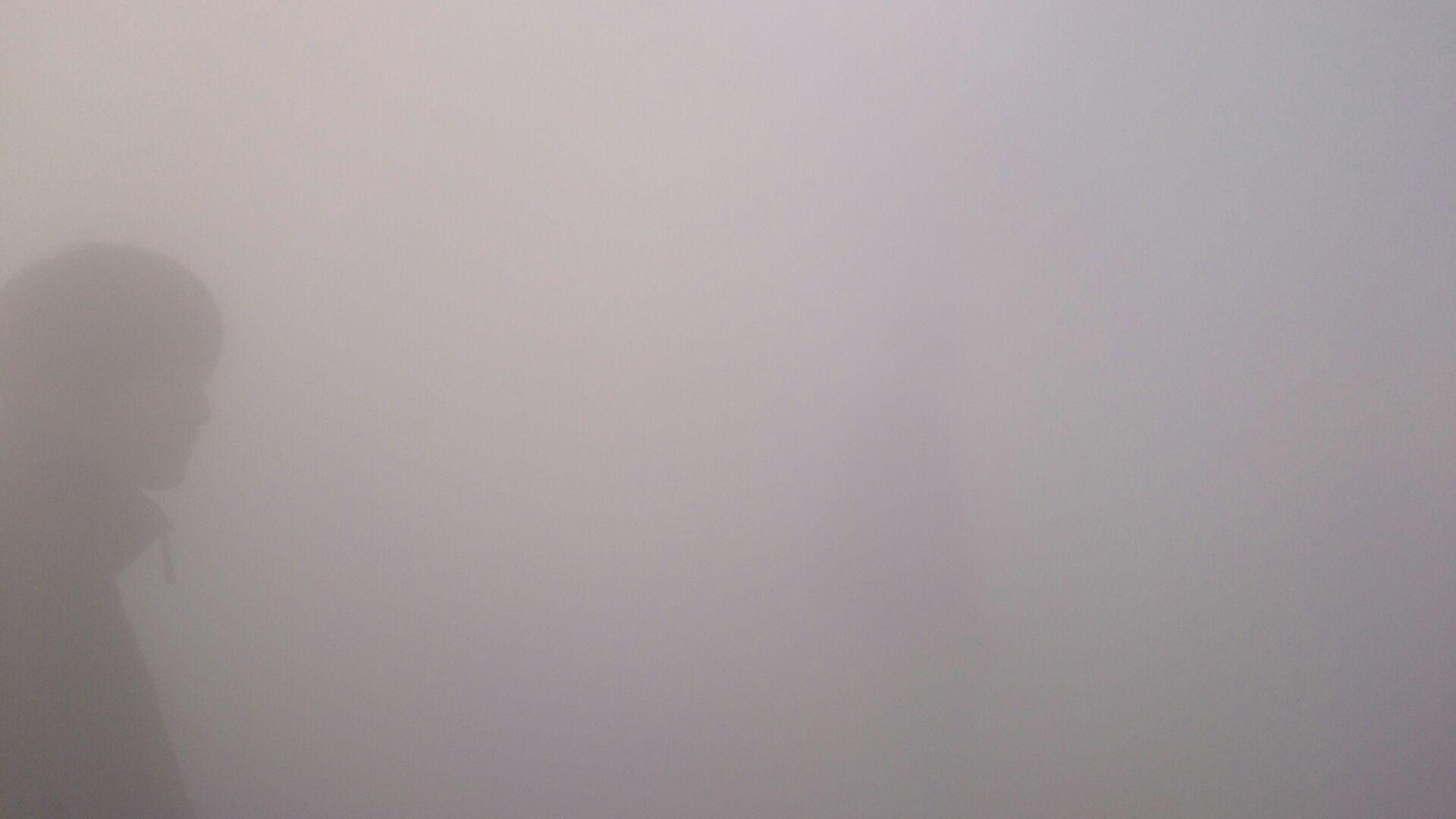 霧の彫刻 昼2