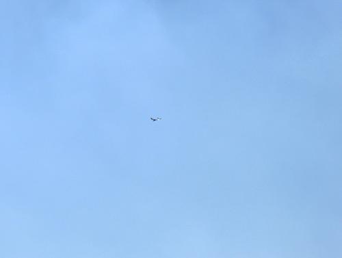 ハンドランチ機、飛行中~。 その3。