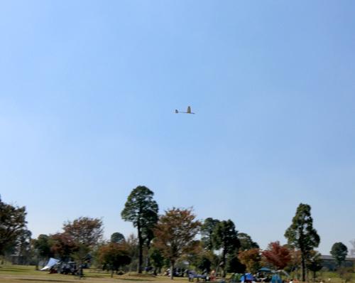 ハンドランチ機、飛行中~。 その2。
