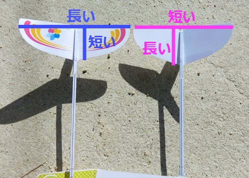 2つの尾翼。