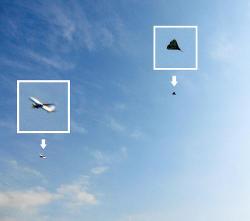 ナゾの、飛行中~! その2。