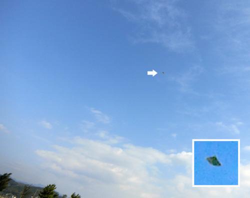 ナゾの、飛行中~! その1。