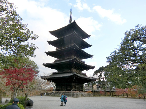 13日、最後は東寺です。 その2。