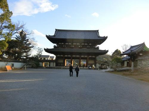 仁和寺、その1! 京都最後のお寺はここ。