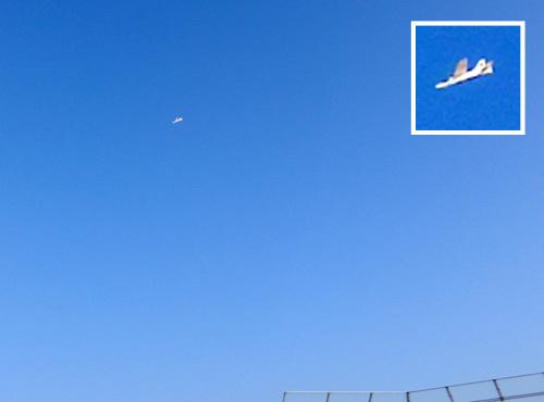 ジェット・ファイター! 飛んでるトコ、その1。