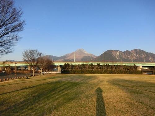 今日の普賢岳も積雪が。