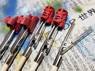 逆作用の塗装棒