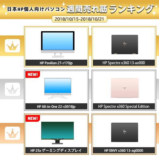 525_HPパソコン売れ筋ランキング_181021_01a