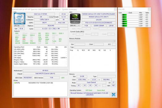 スクリーンショット_HP Spectre x360 15-df0000_スペック_GTX 1050Ti