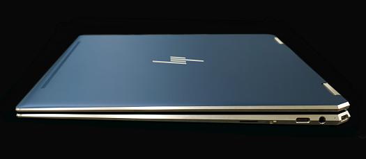 HP-Spectre x360 13-ap0000_ポセイドンブルー_右側面