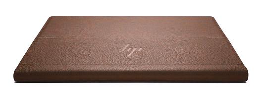 HP Spectre Folio 13_外観_本革_フォリオモード_後方