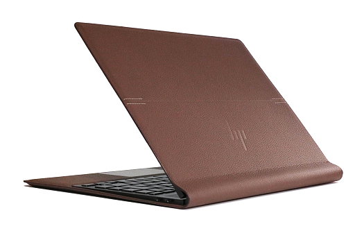 HP Spectre Folio 13_外観_本革