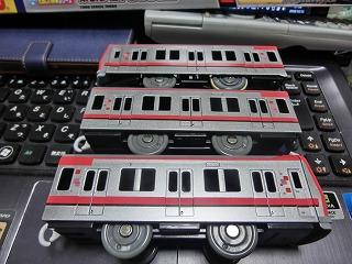 プラレール 東武鉄道 70000系(側面)