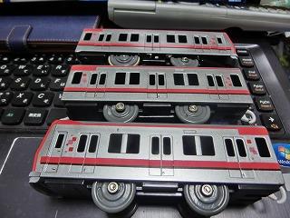 プラレール 東武鉄道 70000系(側面) ②